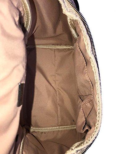 Betty Barcley - Bolso mochila  para mujer negro negro, pardo (beige) - SB-1073-MO-001 pardo