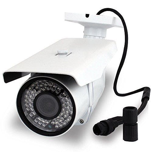 GW Security 1.3 MP 960P Outdoor Security Network ONVIF IP Camera with POE and 2.8-12mm Varifocal Zoom Len for Surveillance NVR System