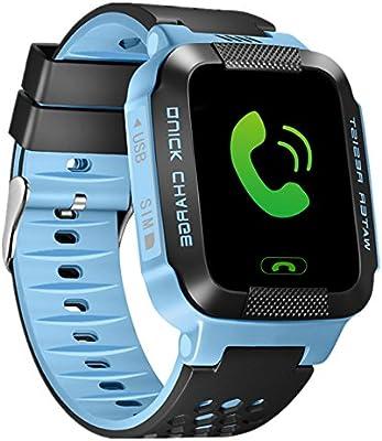 Amazon.com: smfr Kids Reloj Inteligente para Android IOS ...