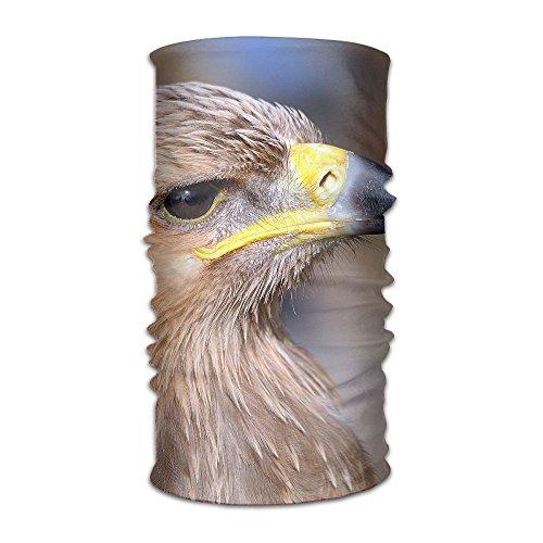 PengMin Tawny Eagle Unisex Fashion Quick-drying Microfiber Headdress Outdoor Magic Scarf Neck Neck Scarf Hooded Scarf Super Soft Handle (Tawny Eagle)