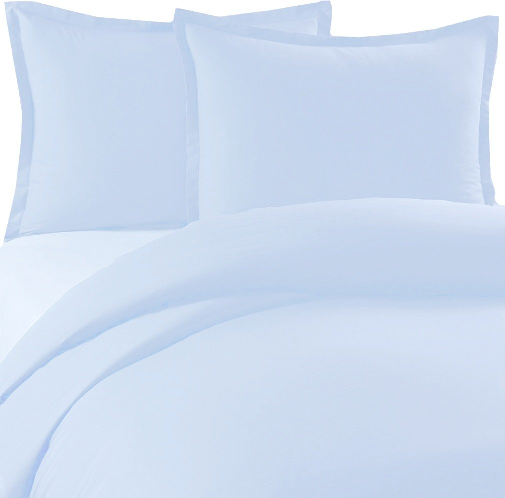 MARRIKAS 300TC 100% Modal From Beechwood QUEEN Duvet Cover BLUE