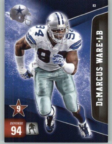 2011 Panini Adrenalyn XL Football Card #83 DeMarcus Ware - Dallas Cowboys - NFL Trading Card