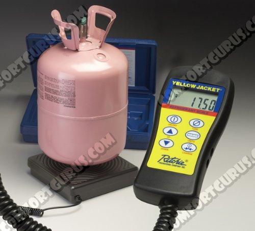 (Yellow Jacket 68813 Programmable Electronic Scale 220 lb)