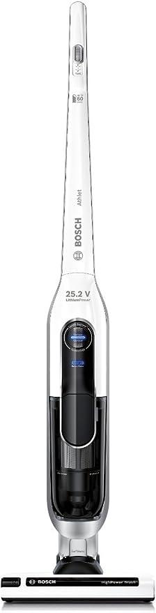 Bosch BBH625W60 Athlet - Aspirador escoba (autonomía hasta 60 min ...