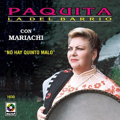 Paquita La Del Barrio Con Mariachi