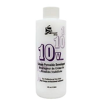 Super Star 50v Cream Peroxide Developer, 4 oz Serious Skincare C Eye Vitamin C Ester Eye Beauty Treatment .5fl oz