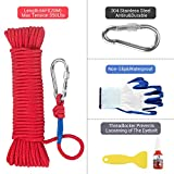 Wukong Fishing Magnet with 66ft Rope & Glove