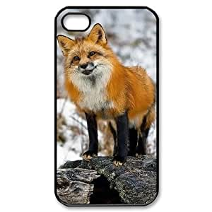 ALICASE Diy Customized hard Case Fox For Iphone 4/4s [Pattern-1]