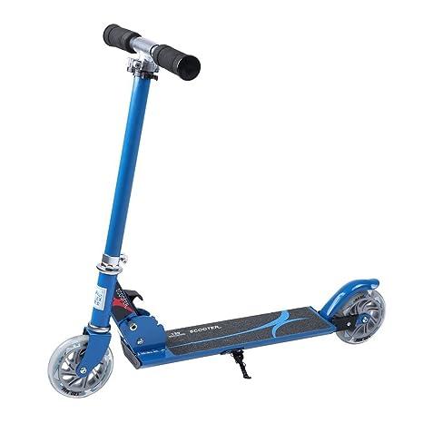 Sweepid Niños Jóvenes Roller - Patinete 2 Ruedas con LED Luz ...