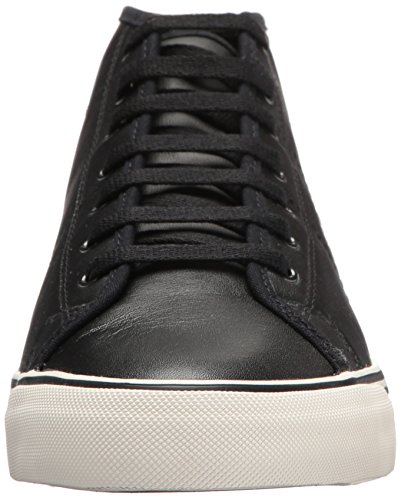 MID Sneaker Haydon Leather Black Fred Perry qwpAEFn7