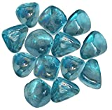 Distinctive Glass Jewel Gems for Vase Filler, Table Scatter or other Beautiful Accents (2.2 Pounds, Aquamarine)