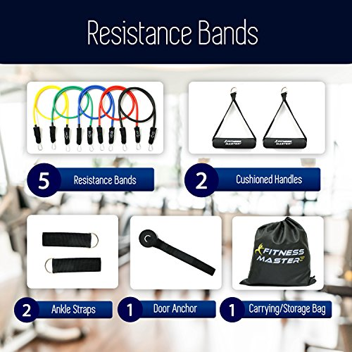Resistance Bands Tension Band Set For Weights Exercise