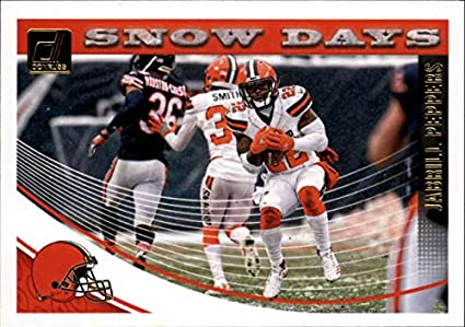 3c8b2453516 Amazon.com  2018 Donruss Snow Days  11 Jabrill Peppers Browns ...