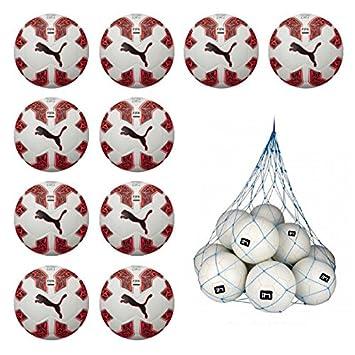 10 x Puma Evospeed 2.5 Hybrid FIFA 10 Red del paquete con balón de ...