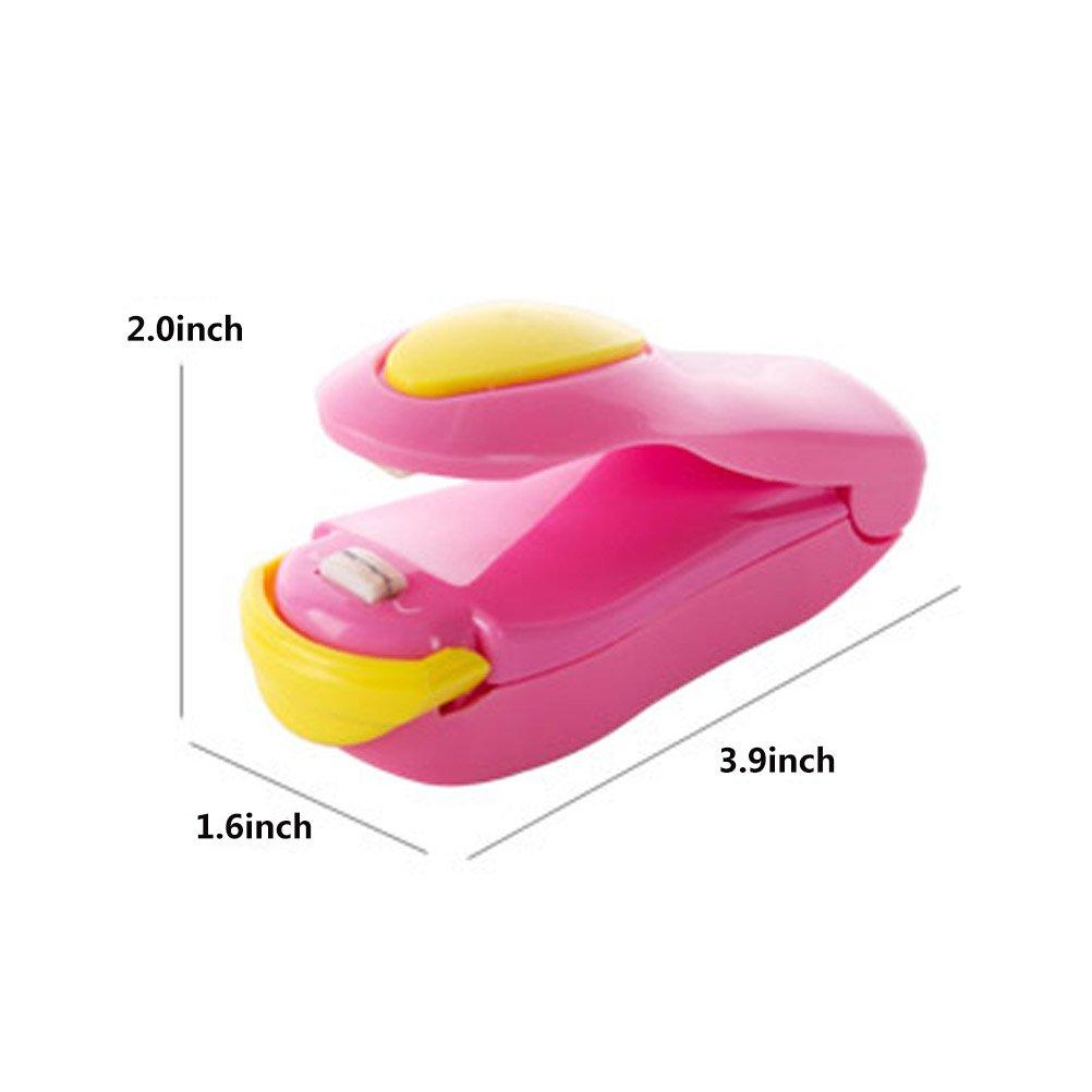 odowalker Mini bolsa bolsa de plástico máquina de sellado de ...