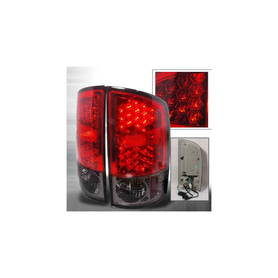 Spec D Tuning 2002 2005 Dodge Ram Led Tail Lights Red
