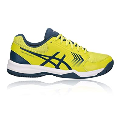 Asics Mens Gel-Dedicate 5 Indoor Court Shoes Trainers Footwear Sports White