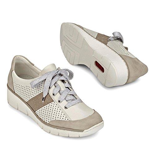 Chaussures Gris Foncé Occasionnels Avec Des Lacets Rieker Rieker Sw5q7TPIWx