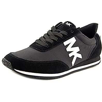 Michael Kors Shoes Stanton Trainer Sneaker Black (8.5)