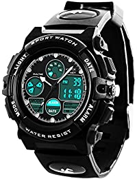 Boys Digital Watch - Kids Waterproof Sports Watch with...