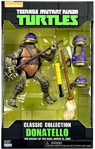 Amazon Com Teenage Mutant Ninja Turtles 6 Donatello With Extra
