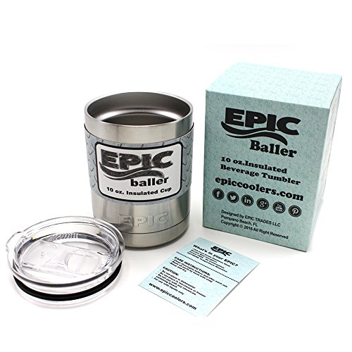 EPIC 10 oz Insulated Tumbler Lowball