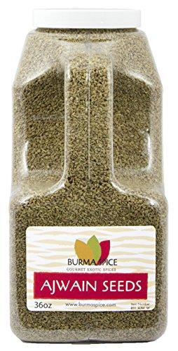Ajwain Seeds : Whole Indian Spice Kosher (36oz.) by Burma Spice (Image #3)