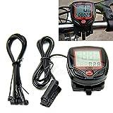 PerfectPrice Waterproof Digital LCD Computer Cycle Bicycle Bike Speedometer Odometer