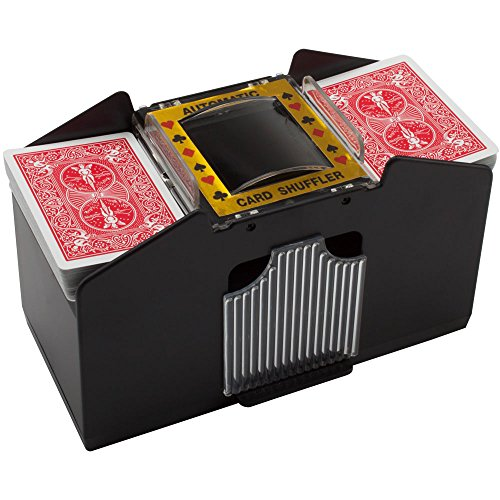 Automatic Card Shuffler For Poker/Casino Games (Plastic; 4-Decks) by GSE Games & Sports Expert