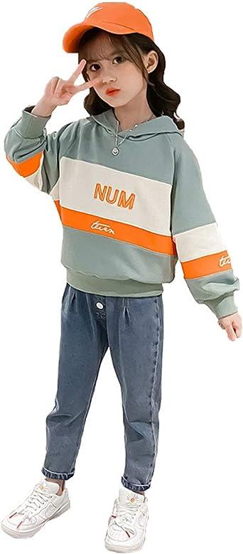 Jogginghose MF519e M/ädchen Freizeitset Sweat-Shirt