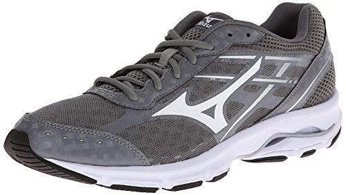 Mizuno Men's Wave Unite 2-M, Grey/White, 12 M US