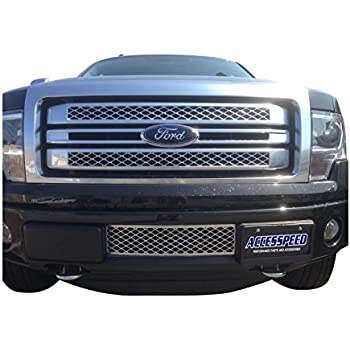 Amazon Com Ecoboost Grilles 2009 2014 Ford F150 Lower Bumper Grille