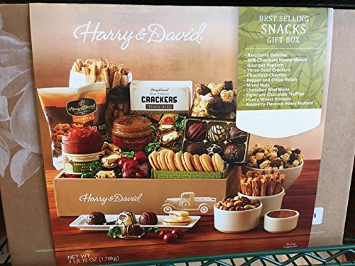 Harry and David, Best Selling Snacks Gift Box, 3 lb 15 oz