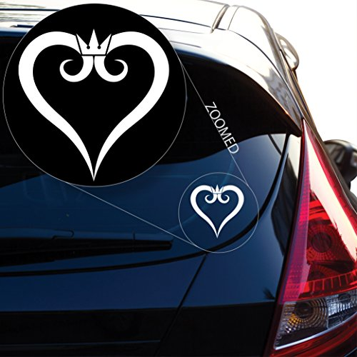 kingdom hearts window decal - 4