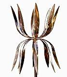 Stanwood Wind Sculpture Kinetic Copper Wind Sculpture Dual Spinner - Dancing Octopus