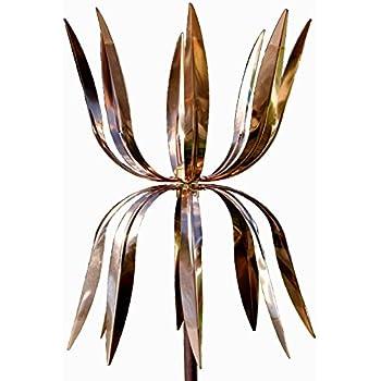 Amazon Com Stanwood Wind Sculpture Kinetic Copper Wind