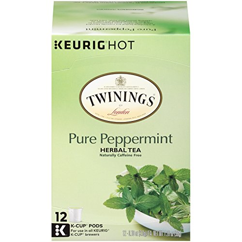 (Twinings of London Pure Peppermint Tea K-Cups for Keurig, 12 Count)