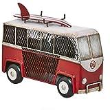 DecoBREEZE Decorative Table Fan, Desk Fan, Single Speed Electric Tabletop Fan, Figurine Fan, 4 inch, Surf Van