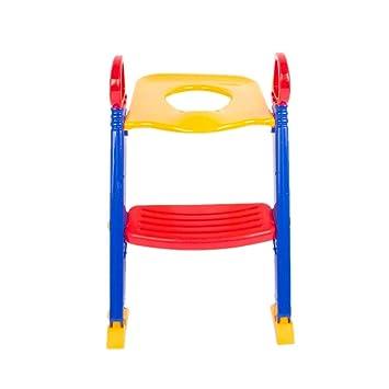 Baby Kids Child Toddler Potty Training Toilet Ladder Seat Steps Space Saving