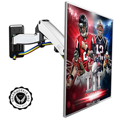 30 Articulating Wall Mount (Articulating Arm 30-40 inch TV LCD Monitor Wall Mount Bracket Full Motion Tilt Swivel for 32