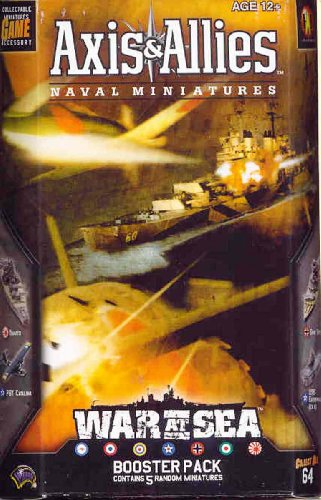 War at Sea Booster: Axis & Allies Naval Miniatures (Axis & Allies Miniature Game Supplement)