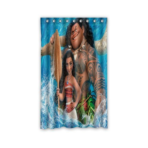 Moana Custom Window Curtains