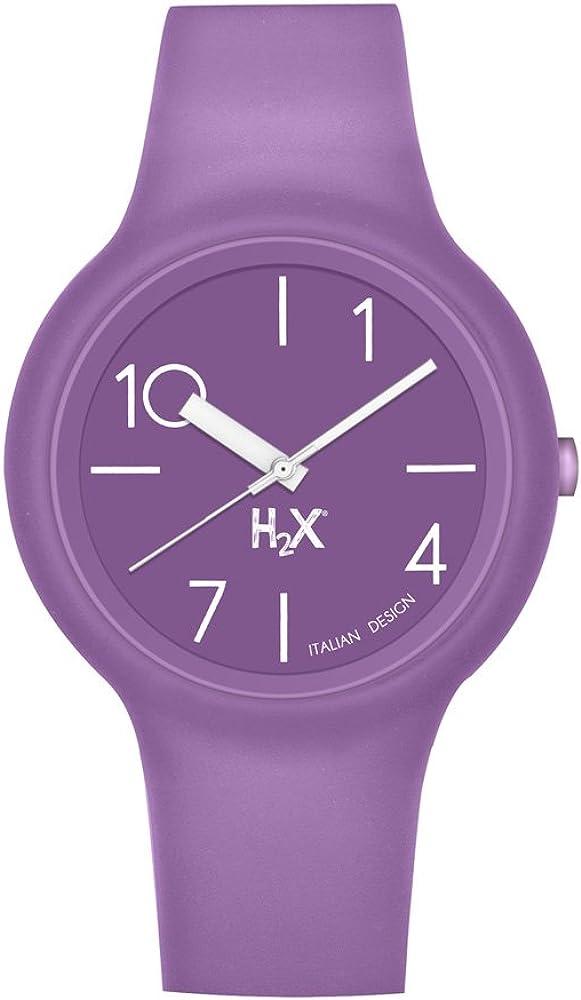 Haurex Reloj Analógico para Mujer de Cuarzo con Correa en Caucho SP390DP2