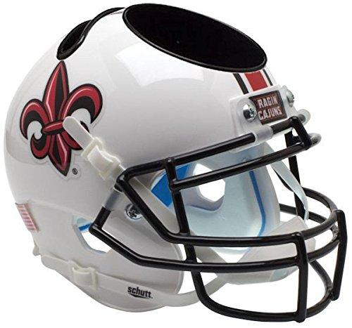 Louisiana (Lafayette) Ragin Cajuns Miniature Football Helmet Desk Caddy - NCAA Licensed - Louisiana Lafayette Ragin Cajuns Collectibles
