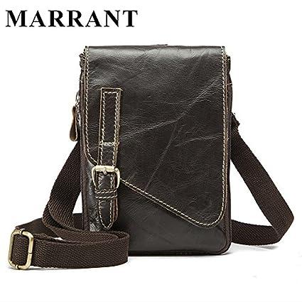 Buy Genric coffee   MARRANT Hot Sale Genuine Leather Men Bags Men s Casual  Travel Bag Man Crossbody Shoulder Handbag Belt Messenger Men Bags 8899  Online at ... 83df29826e5b2