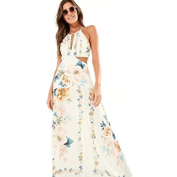 b72053a1a03 Vestido Longo Recorte Floral Est Maxi Floral Frescor Off White - G ...