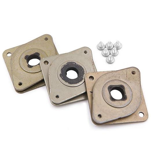 3 piezas NEMA 17 amortiguadores de vibración de acero y goma y 6 ...