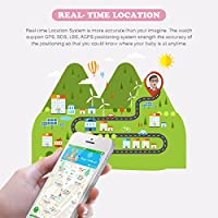 Diggro Smartwatch Llamada Anti-Lost SOS 1.44 Inch GPS Touch Kids ...