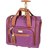 Steve Madden Luggage Wheeled Suitcase Under Seat Bag