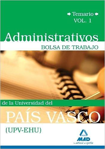 Administrativos de la Universidad del País Vasco (UPV/EHU ...
